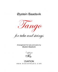 Tango (for tuba and piano)