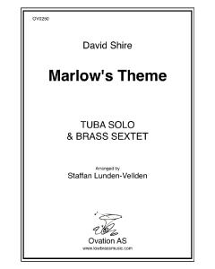 Shire - Marlows Theme (tuba and brass sextet)