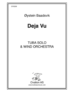 Deja-vu (tuba and wind band)