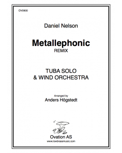 Metallephonic Remix SCORE ONLY