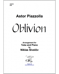 Oblivion by Piazzolla (tuba and piano)