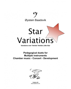 Star Variations (bass clef)
