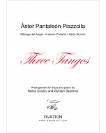 Three Piazzolla tangos for tuba and piano