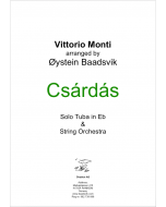 Czardas for tuba and strings (version for Eb tuba)